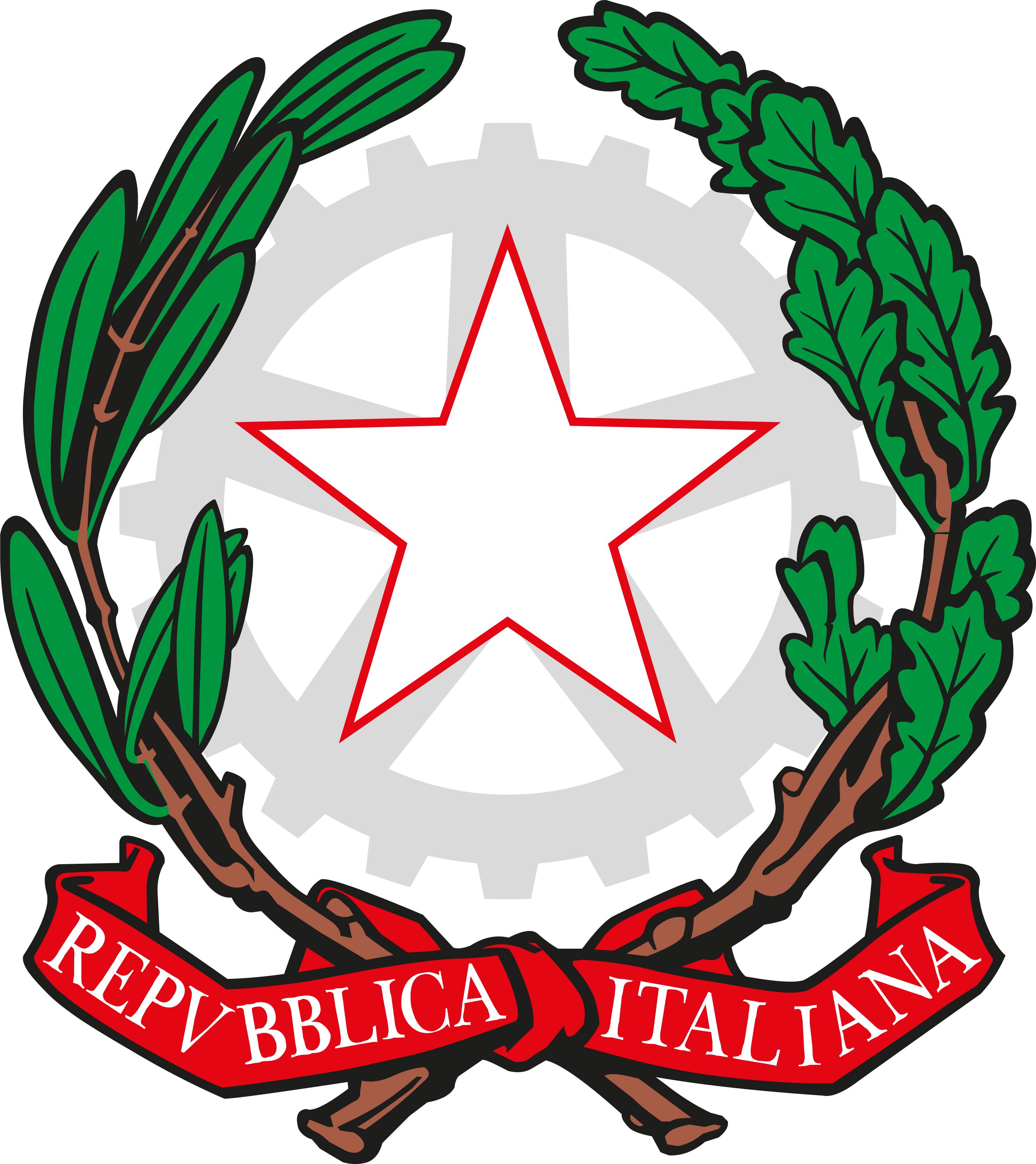 Logo repubblica italiana aigae for Costituzione parlamento italiano
