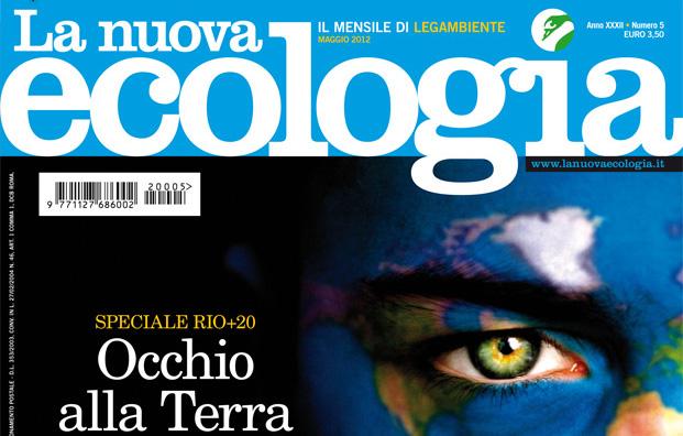 Copertina rivista nuova ecologia