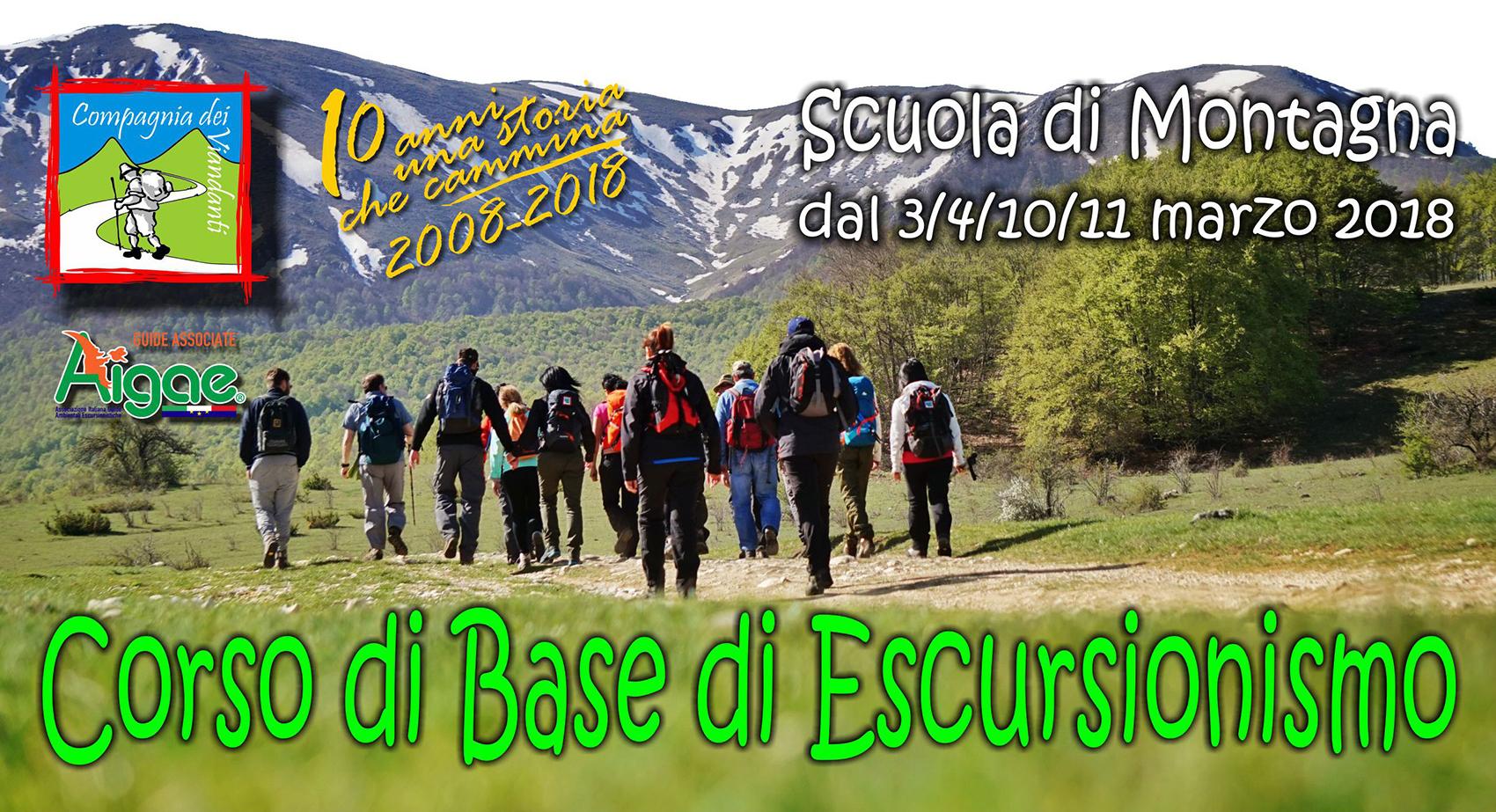 Corso primo livello escursionismo Veroli - Lazio
