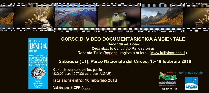 tecniche video in ambiente naturale
