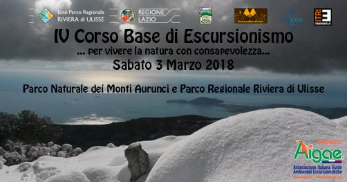 Corso base escursionismo Maranola di Formia - aigae