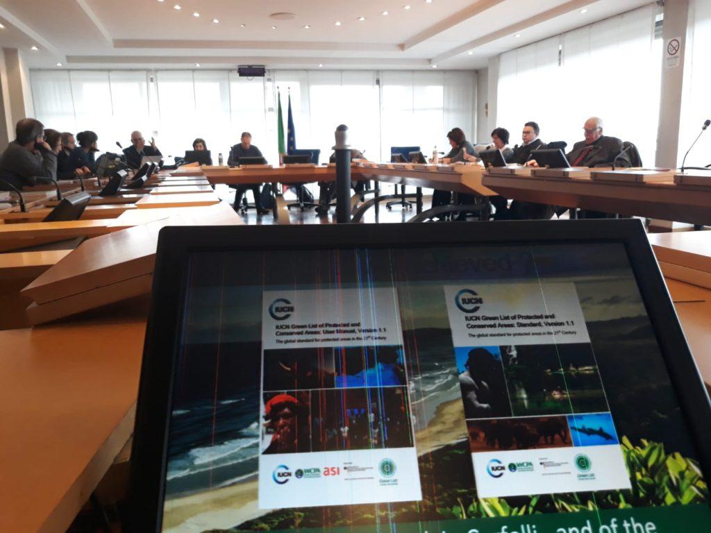 IUCN riunione comitato itaiano