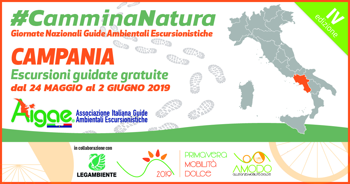 CAMPANIA CAMMINANATURA2019