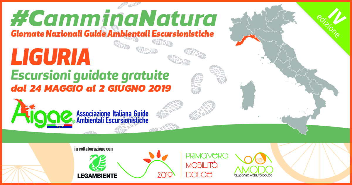 LIGURIA CAMMINANATURA2019