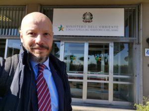 Davide Galli, presidente nazionale AIGAE convocato al Ministero dell'Ambiente - 2020